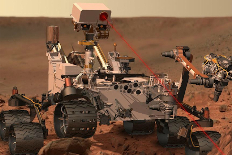 Mars rover depends on LANL technologies